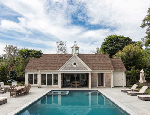 Pool House for All Seasons